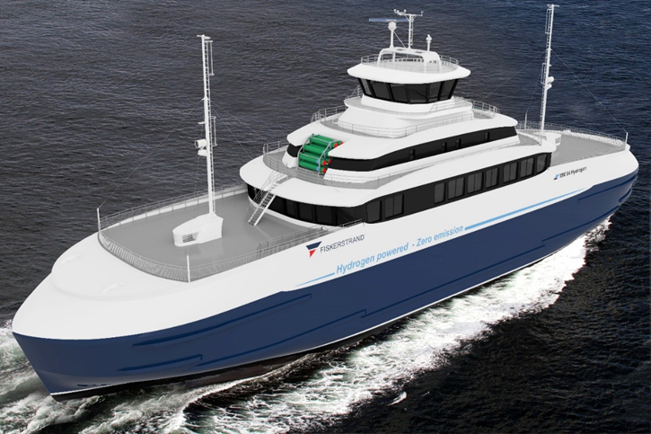 Fiskerstrand Hydrogen-ferge  MM design